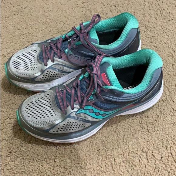 Women s Saucony Everun Guide 10 Running Shoes. M 5c3117e75c4452b5c301dec6 4206528746